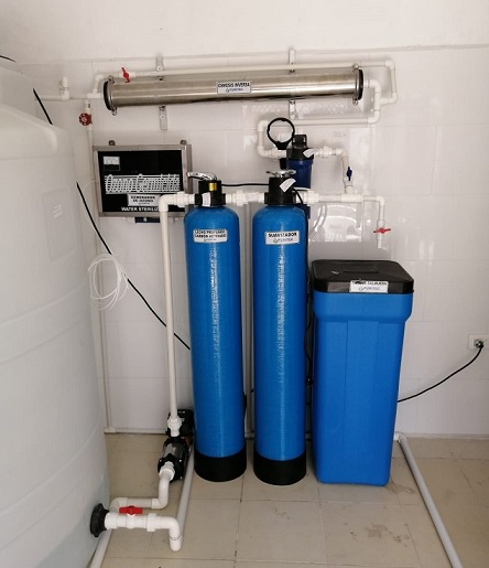 purificadoras de agua automáticas