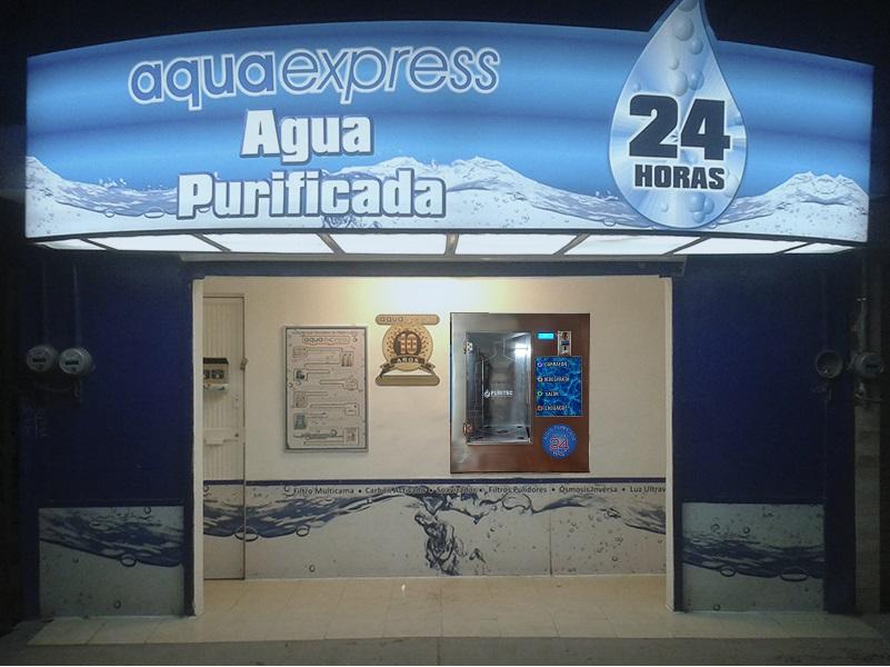 purificadoras de agua automáticas 24 horas